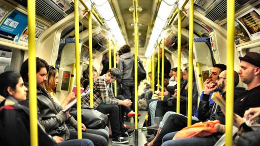 transport w londynie