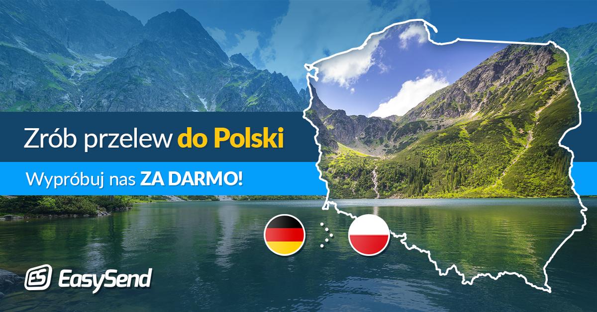 darmowe przelewy z niemiec do polski