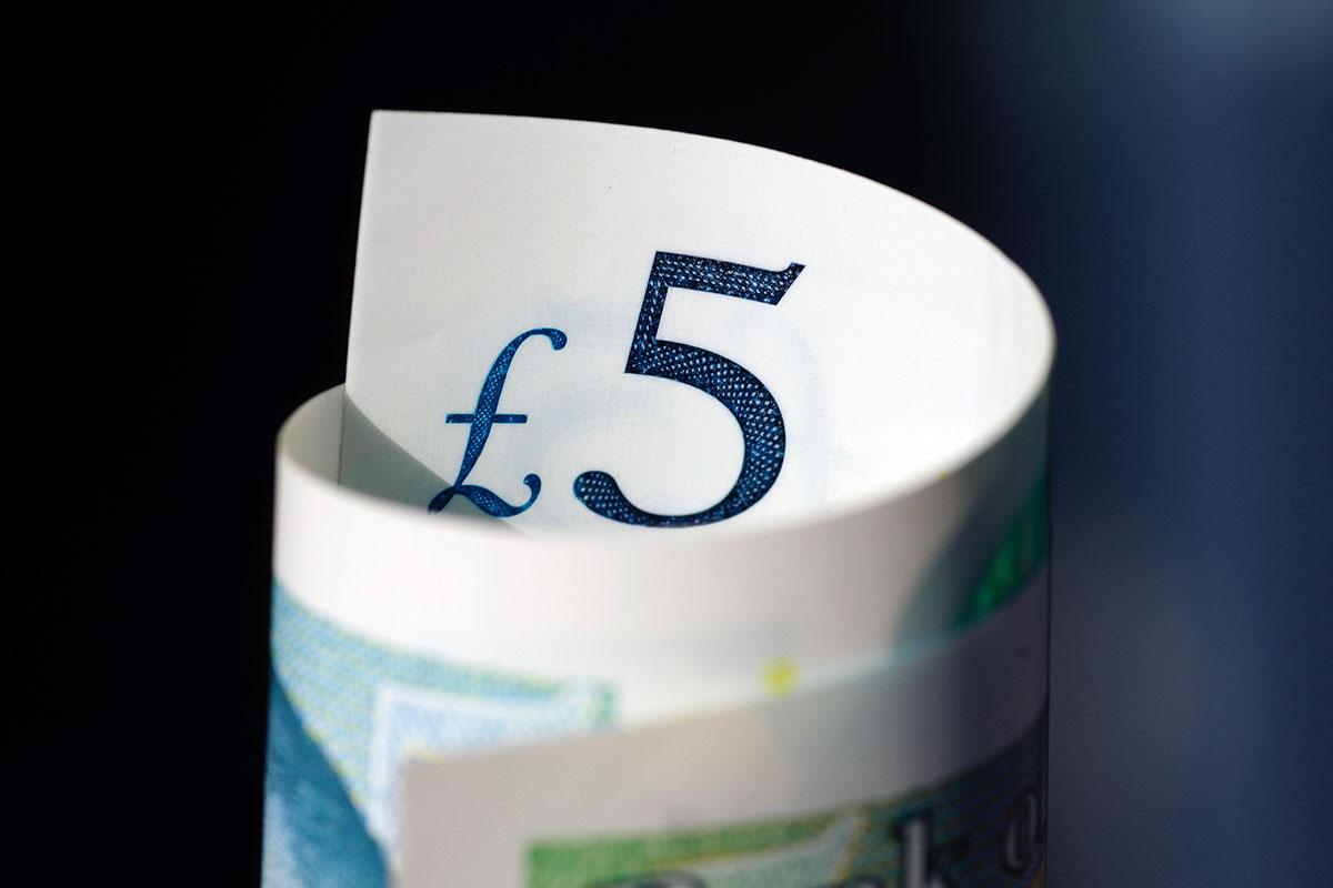 funt brytyjski banknoty